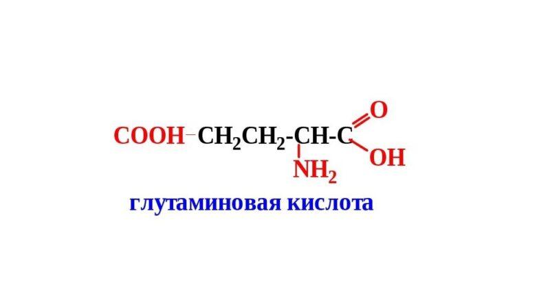 Глутоминовая кислота
